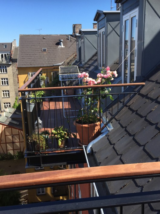 Planter på altan