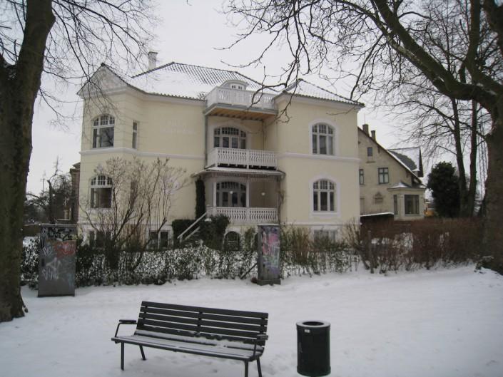 Altaner på villa vinter